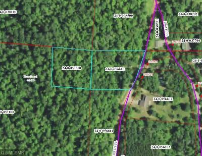 Aitkin Residential Lots & Land For Sale: Xxx 395th Place