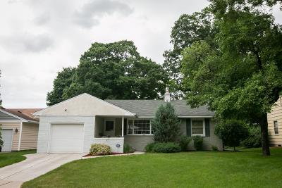 Saint Paul Single Family Home For Sale: 691 Woodlawn Avenue