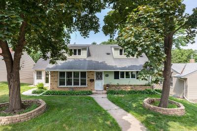 Saint Paul Single Family Home For Sale: 1383 Prior Avenue S