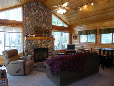Crosslake Single Family Home For Sale: 12307 Whitefish Avenue