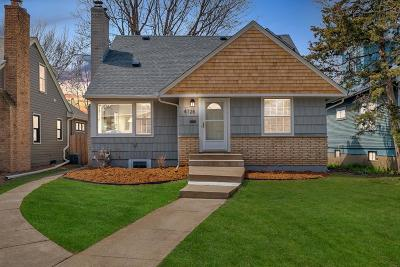 Minneapolis Single Family Home For Sale: 4728 York Avenue S