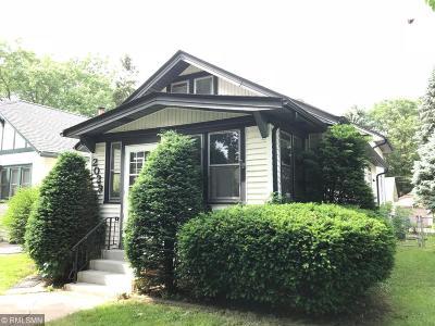 Saint Paul Single Family Home For Sale: 2029 Wellesley Avenue