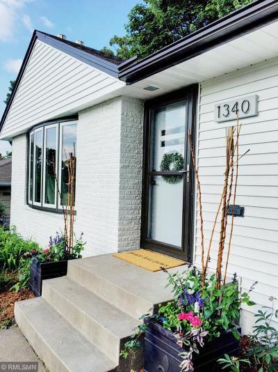 Saint Paul Single Family Home For Sale: 1340 Sumner Street