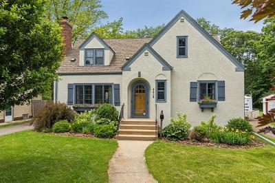 Edina MN Single Family Home For Sale: $495,000