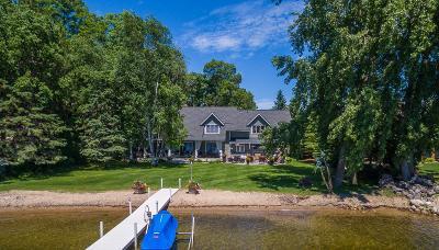 Single Family Home For Sale: 10631 Wabigoniss Shores