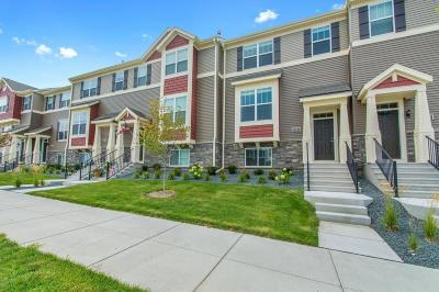 Maple Grove Condo/Townhouse For Sale: 8193 Central Park Way N