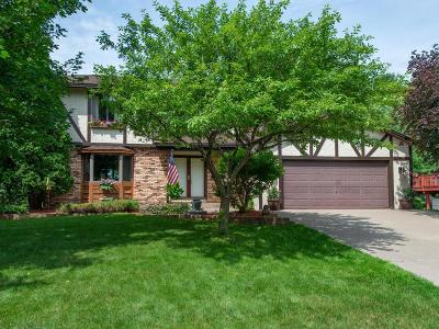 Maple Grove Single Family Home For Sale: 9945 Union Terrace Lane N