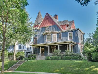 Saint Paul Single Family Home For Sale: 767 Goodrich Avenue