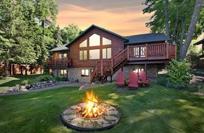 Nisswa Single Family Home For Sale: 22901 Old Government Trail