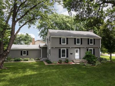 Edina Single Family Home For Sale: 6801 Antrim Road