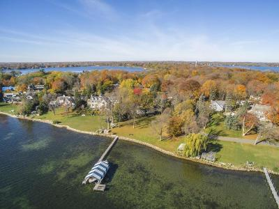 Minnetonka Beach MN Single Family Home For Sale: $4,295,000