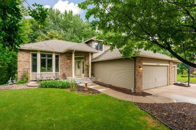 Lino Lakes Single Family Home Contingent: 6998 Black Duck Drive