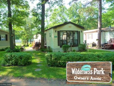 Crosslake Single Family Home For Sale: 15827 Wilderness Trail #96