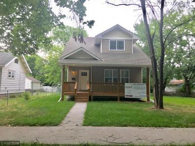 Minneapolis Single Family Home For Sale: 4526 Aldrich Avenue N