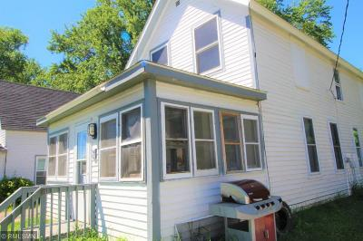 Rush City Single Family Home For Sale: 25 W 3rd Street