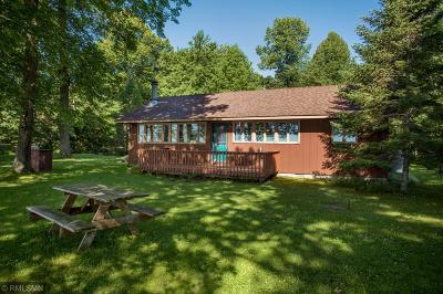 Federal Dam, Leech Lake Twp, Walker, Benedict, Laporte Single Family Home For Sale: 3471 NW Stony Point Camp Road