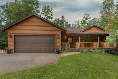 Brainerd Single Family Home For Sale: 15494 Pine Shores Road