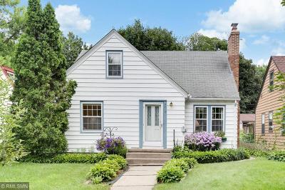 Minneapolis Single Family Home For Sale: 5219 12th Avenue S