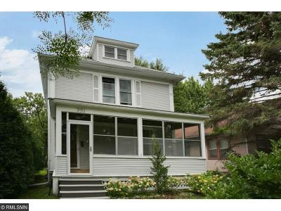 Saint Paul Single Family Home For Sale: 991 Saint Clair Avenue