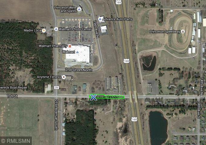 Princeton Minnesota Map.1806 1st Street Princeton Mn Mls 4979469 Homes For Sale