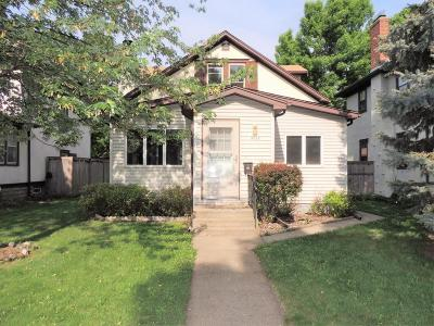 Minneapolis Single Family Home For Sale: 4052 23rd Avenue S