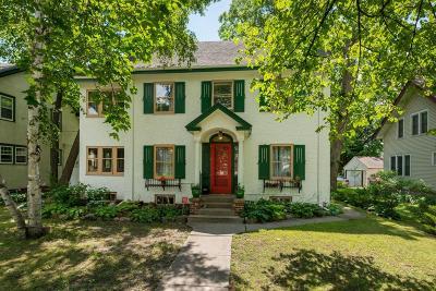 Saint Paul Single Family Home For Sale: 2166 Goodrich Avenue