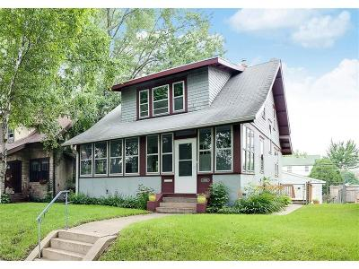 Saint Paul Single Family Home For Sale: 1595 Berkeley Avenue