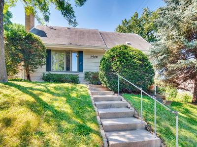 Saint Paul Single Family Home For Sale: 2408 Carter Avenue