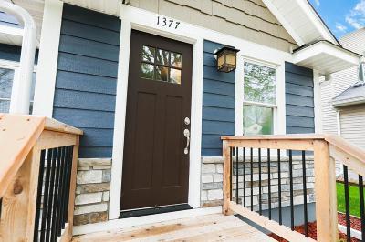 Saint Paul Single Family Home Contingent: 1377 James Avenue