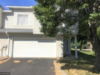 Coon Rapids Condo/Townhouse For Sale: 8778 Norway Street NW