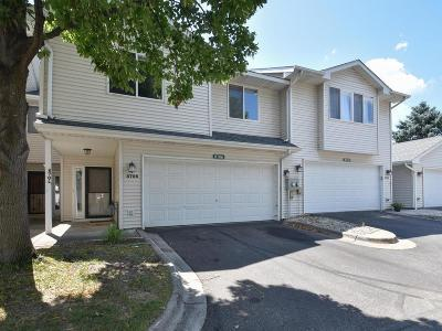 Coon Rapids Condo/Townhouse For Sale: 8706 Norway Street NW