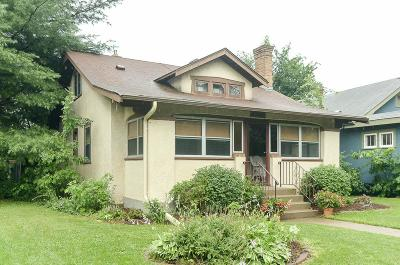 Minneapolis Single Family Home Contingent: 4137 42nd Avenue S