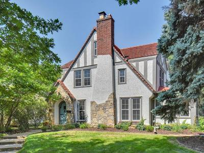 Saint Paul Single Family Home For Sale: 1849 Hillcrest Avenue