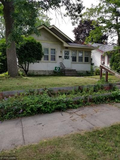Minneapolis Single Family Home For Sale: 3427 Irving Avenue N