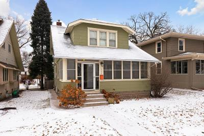 Saint Paul Single Family Home For Sale: 1595 Wellesley Avenue