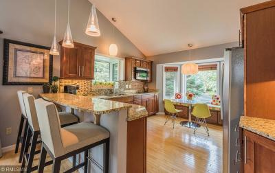 Minnetonka Single Family Home Contingent: 18644 Clear View Drive
