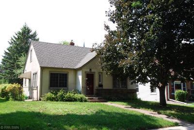 Saint Paul Single Family Home For Sale: 1552 Scheffer Avenue