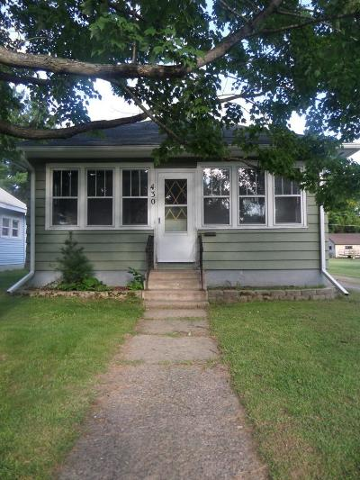 Pine City MN Single Family Home For Sale: $124,900