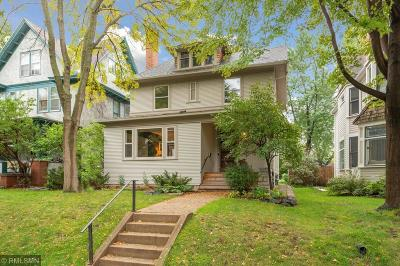 Saint Paul Single Family Home For Sale: 908 Goodrich Avenue