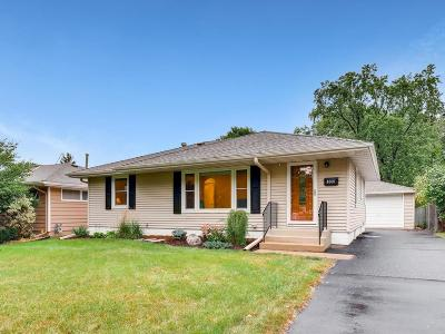 Saint Louis Park Single Family Home Contingent: 1605 Pennsylvania Avenue S