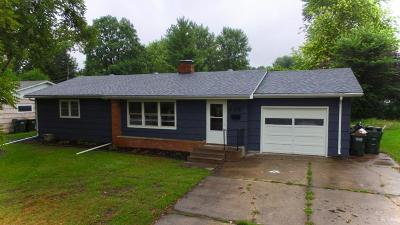 Hutchinson Single Family Home For Sale: 845 Lynn Road SW