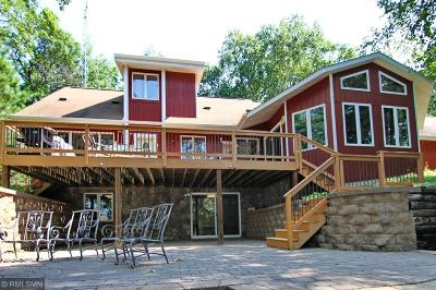 Pequot Lakes Single Family Home For Sale: 33723 Winnamakee Shores Road