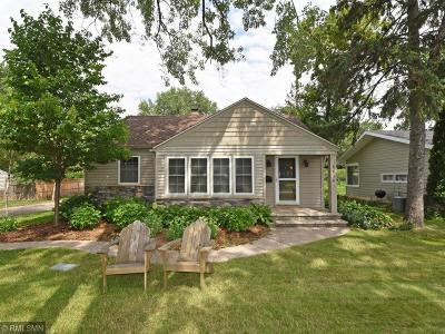 Edina Single Family Home For Sale: 5036 W 60th Street