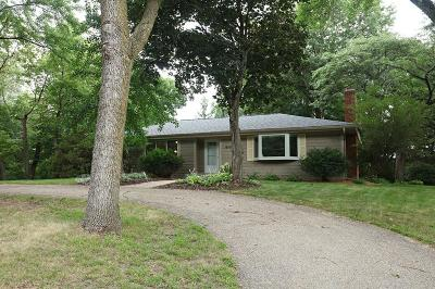 Shorewood Single Family Home For Sale: 19580 Shady Hills Road