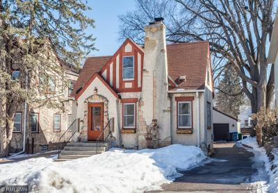 Minneapolis Single Family Home For Sale: 4335 Chowen Avenue S