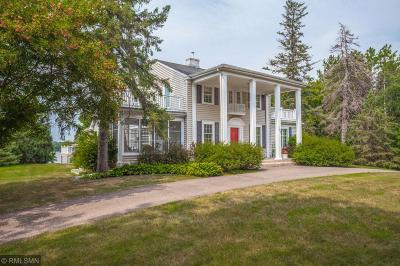 Wayzata, Plymouth Single Family Home For Sale: 185 Gleason Lake Road