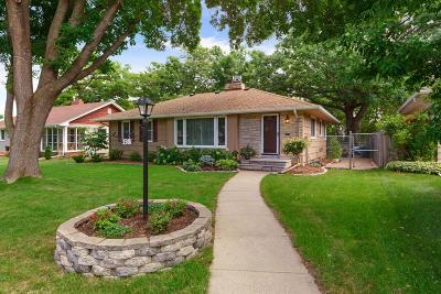 Robbinsdale Single Family Home Sold: 3506 Zenith Avenue N