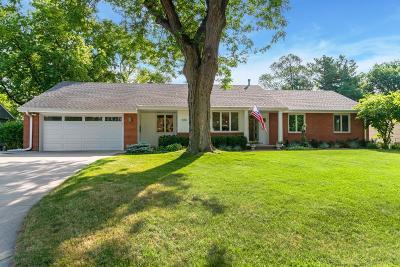 Edina Single Family Home For Sale: 5813 Eastview Drive