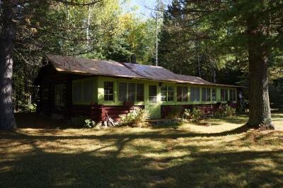 Koochiching County, Saint Louis County, St. Louis County Single Family Home For Sale: 608 Crane Lake Narrows
