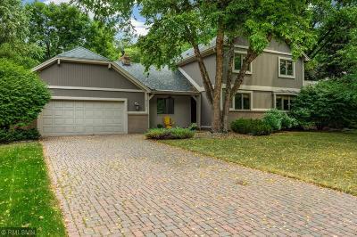Eden Prairie Single Family Home Contingent: 9291 Amsden Way